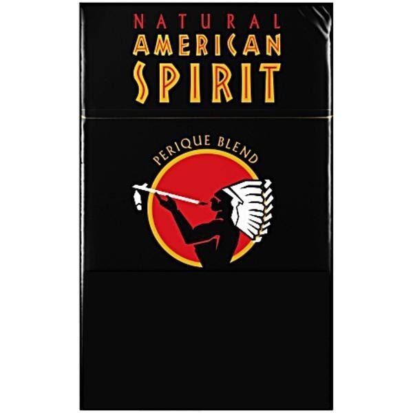 AMERICAN SPIRIT FULL-BODIED TASTE BLACK HARD PACK