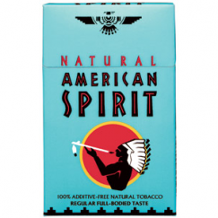 AMERICAN SPIRIT FULL-BODIED TASTE BLUE HARD PACK