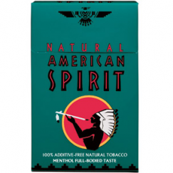 AMERICAN SPIRIT FULL-BODIED TASTE GREEN HARD PACK