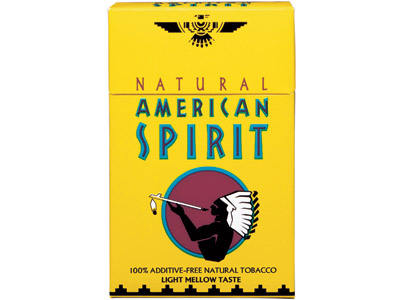 AMERICAN SPIRIT MELLOW TASTE YELLOW HARD PACK