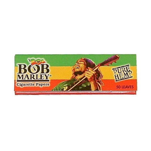 bob marley rolling paper cigarette papers 1 1 4 burn brew