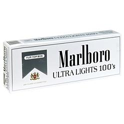 Marlboro ULTRA LIGHTS 100S