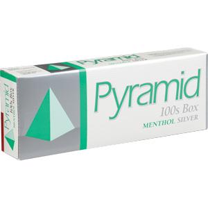 Pyramid Menthol Silver 100s