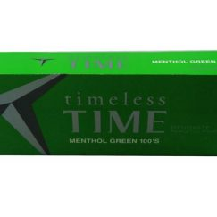 Time Menthol Green 100s