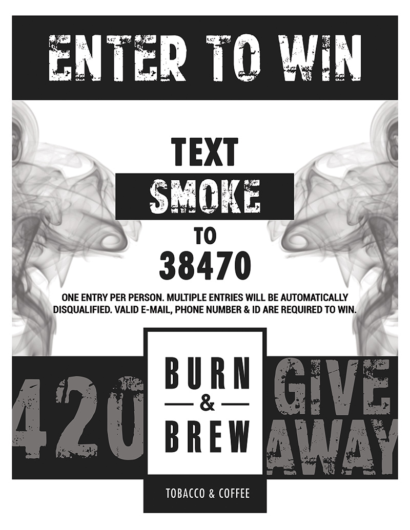 Enter the 4/20 Giveaway!